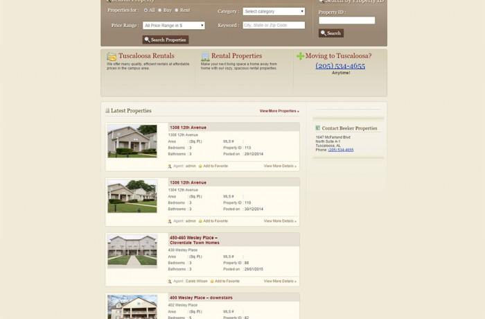 Beeker Properties